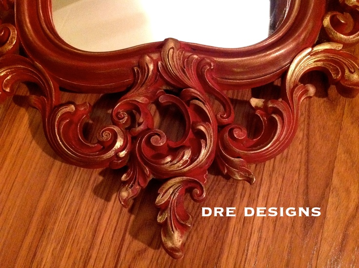 Gorgeous Mirror Done In Emperoru0027s Silk Chalk Paint® Decorative Paint By  Annie Sloan With Both