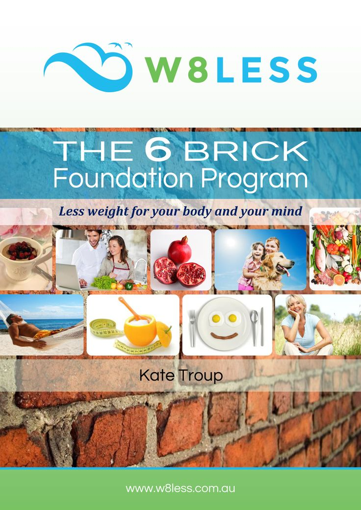 W8less 6 Brick Foundation eBook. The proven 6 step process for achieving weight loss and well being.