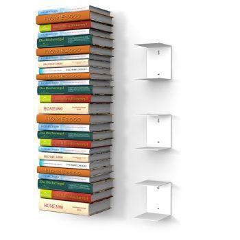 ber ideen zu b cherregal weiss auf pinterest. Black Bedroom Furniture Sets. Home Design Ideas