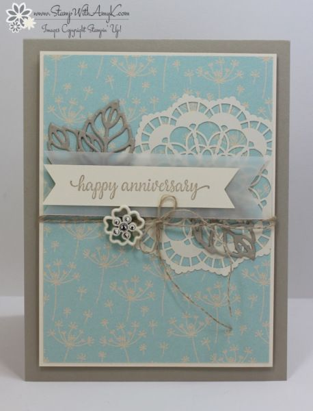 I used the Stampin' Up! So In Love stamp set to create my card for the Fab Friday sketch challenge this week.  I borrowed a bit of inspiration from the Stampin' Up! catalog for this card, I l…
