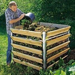 Beckmann-Kompostsilo  1200 Liter - Offene Komposter Komposter - Beckmann KG - Ihr Spezialist für Gewächshaus und Gartenartikel