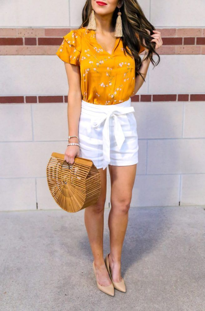 Summer Mustard Outfit