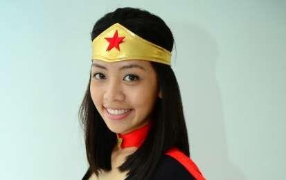 Costumi di Carnevale fai da te da supereroi - Wonder Woman