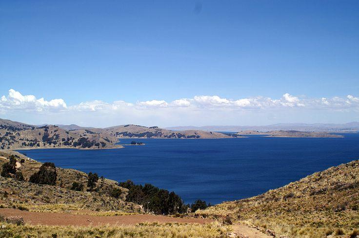A view from Taquile Island, Titicaca, Peru. Photo (cc) Frank_am_Main.