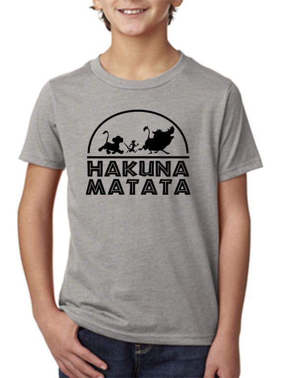 Hakuna Matata shirt,Disney Vacation tshirt,Lion King shirt,Disney Tshirt,Hakuna Matata,Boys Disney Shirt,Disney Top