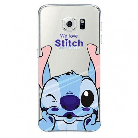 Coque we love Stitch Galaxy s6