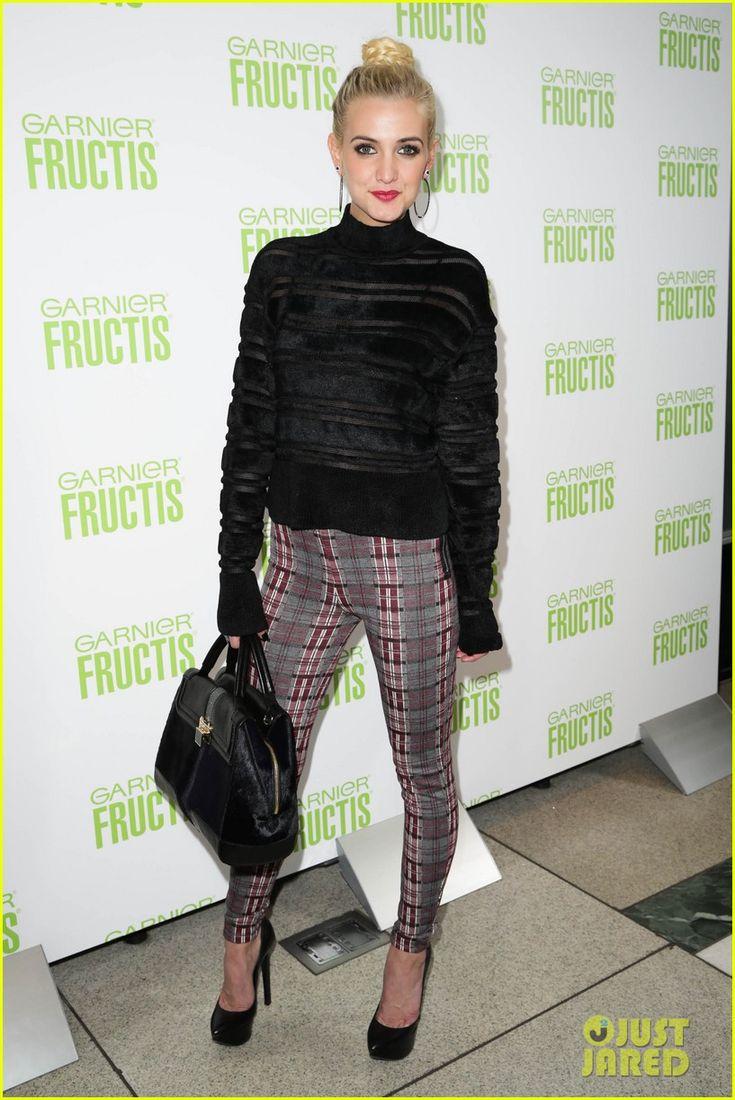 Ashlee Simpson: Garnier Fructis Fashion Week Celebration!