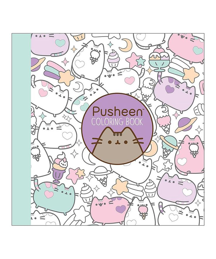 Take a look at this Pusheen Coloring Book today!