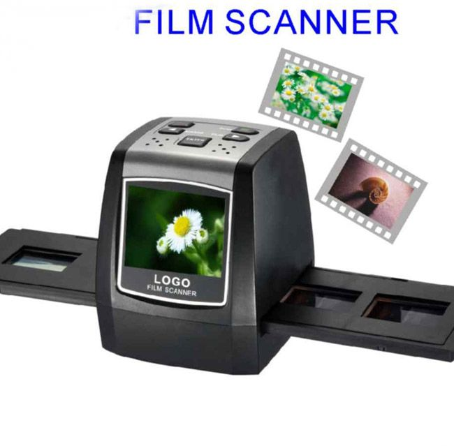 5MP 2.4inch screen Film Slide Scanner, Color Photo Copier [SKU#SC05] - $53.00 : Rakeinme.com