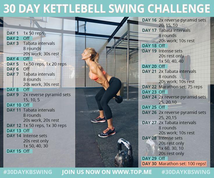 Best 25 Kettlebell Swings Ideas On Pinterest Kettle