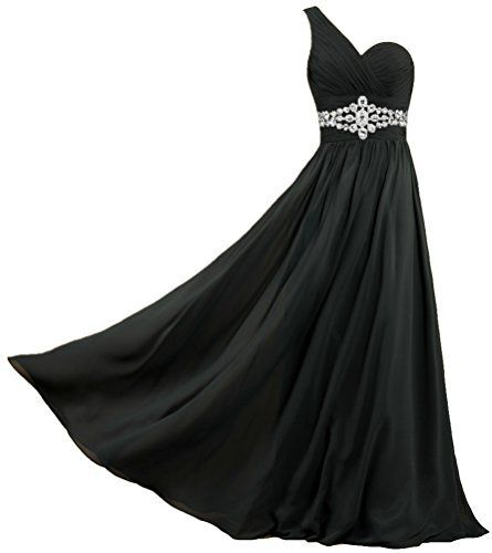 Product review for Unbranded* Women's One Shoulder Chiffon Prom Dresses Long Evening Gowns.  - One shoulder pleat bodice features eye-catching crystals. Pleats front bust is flattering and unique. Empire waist creates an elongated silhouette. Sheer Chiffon catches the light beautifully for a truly radiant look. Fully lined. Back drawstring.       Famous Words of...