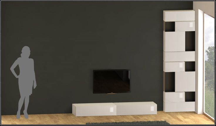 open and play with your own design bookcase . Modular example Modern living room design .