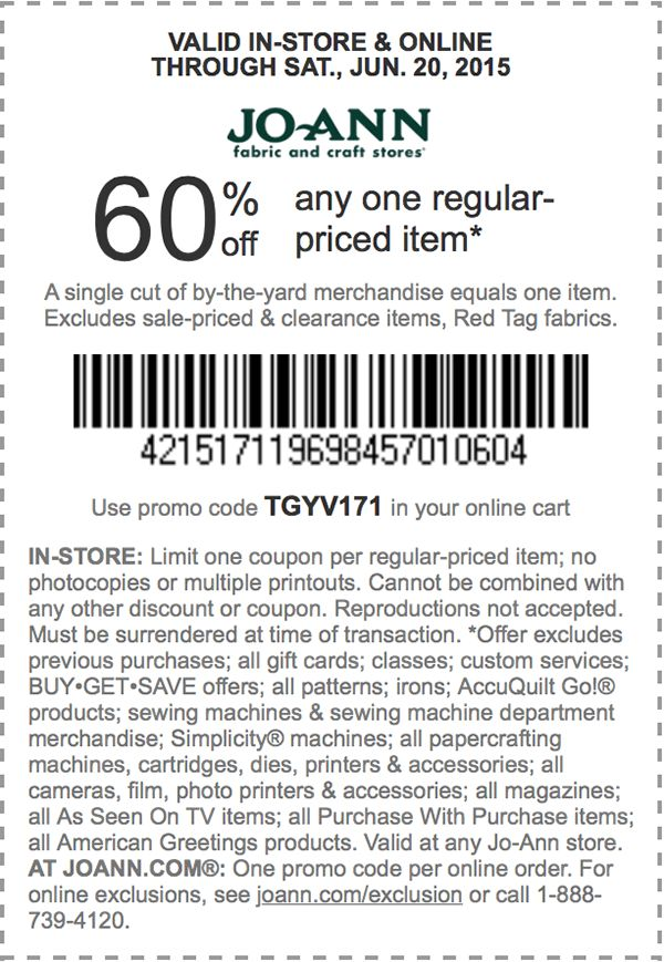17 best images about location on pinterest cafe shop for Jo ann fabric and craft coupons