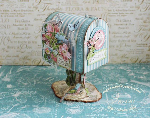 Творческая мастерская Мемуарис: Мастер-класс: декоративный почтовый ящик своими руками