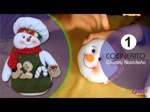 Cocinerito Paso a Paso Country Navideño  Parte 3 - YouTube