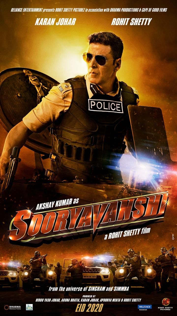 Sooryavanshi 2020 Upcoming Bollywood Film Detail And Trailer in 2020 | Full  movies download, Latest hindi movies, Hindi movie film
