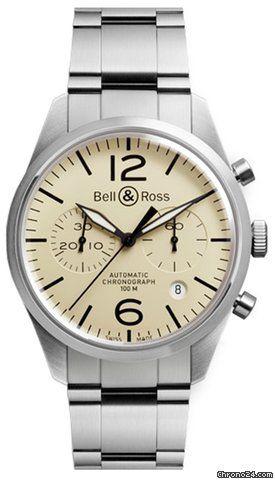 Bell & Ross Vintage ajánlat: Bell & Ross BR 126 Original Beige 826809Ft, Referenciaszám BRV126-BEI-ST/SST; Állapota 0 (nem hordott); Új; Tokban; Papírjaival; Fellelhető