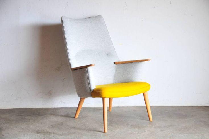 """ウェグナー ママベア 名作椅子。Hans J Wegner """"Mama Bear"""" AP 27ハンス・ウェグナー  ママベア 名作椅子"""