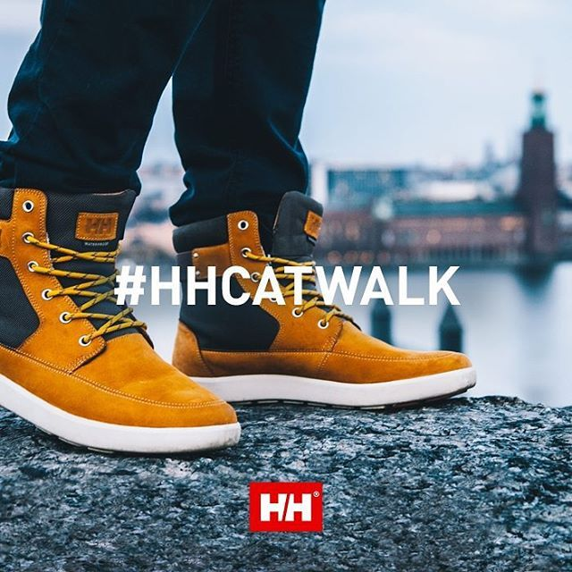 We hope you were able to share with us how beautiful your city skyline is for last week's challenge! This week's Instagram challenge is your last chance to win the Stockholm boot, or the W Harriett boot for the ladies. Enter to win by showing us your best runway walk on the pavement! Just use hashtags #HHCatwalk and #HellyHansen. Good luck! #challengeison