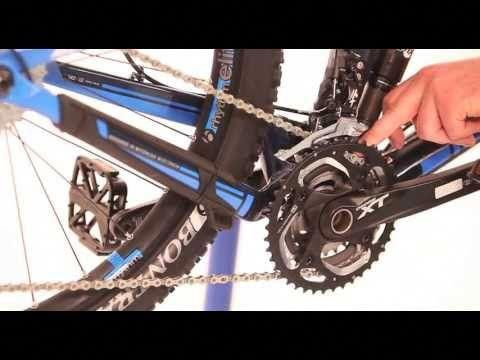 How To Set Up Your Mtb Gears Front Mech Youtube Bicyclerepair