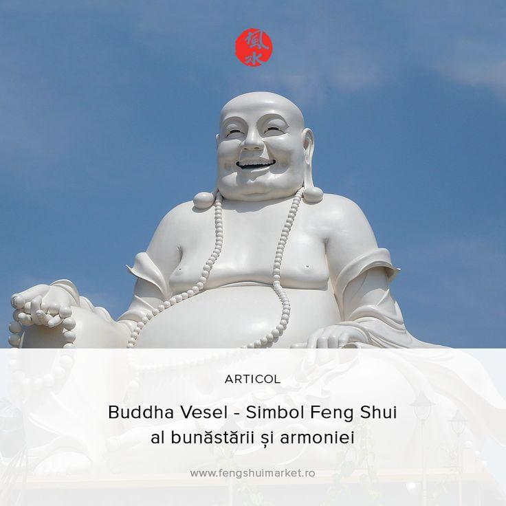 Unul dintre cele mai cunoscute simboluri Feng Shui, Buddha Vesel, aduce bucurie și împlinire celor care îl poartă asupra lor. Buddha Vesel este cunoscut și sub numele de Maitreyia si reprezintă fericirea supremă.   Află mai multe despre semnificațiile acestui simbol și locul în care trebuie să îl amplasezi în casă, din articolul nostru: http://fengshuimarket.ro/blog/buddha-vesel-simbol-feng-shui-al-bunastarii-si-armoniei/