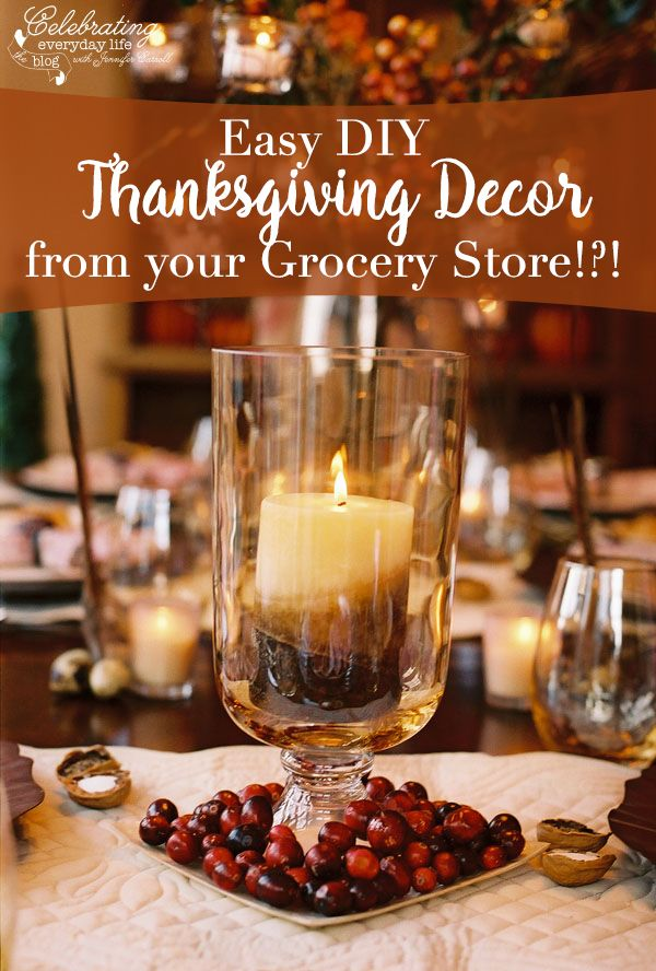 A Cranberry Inspired Thanksgiving Celebration {Thanksgiving Decor Ideas