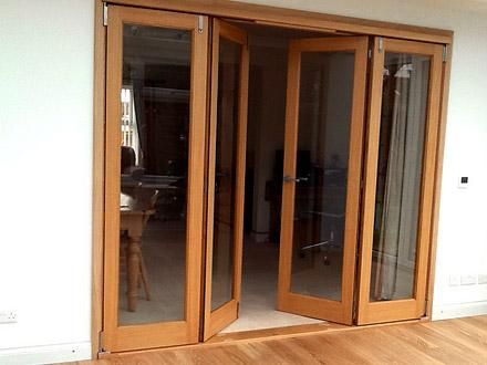 Vufold Inspire 8ft Internal Bifolding Door West Sussex Room Divider