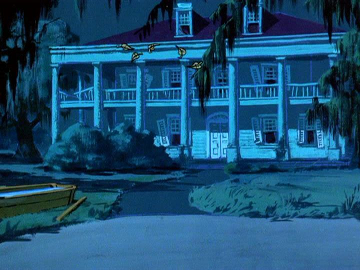 Abandoned & Mysterious background paintings from Scooby Doo Episodes