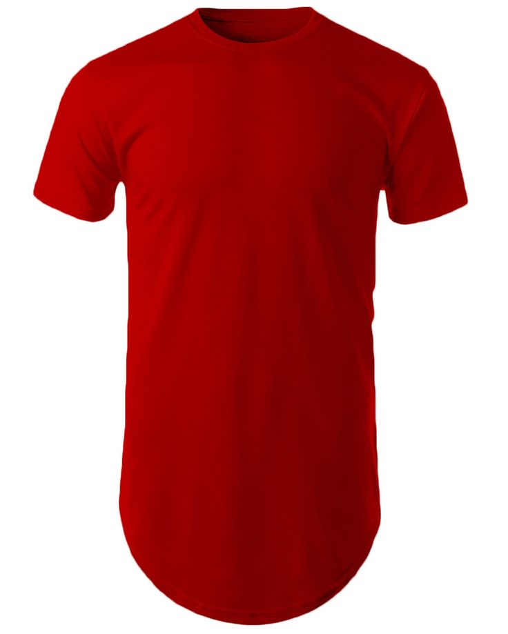 Mens-Hipster-Hip-Hop-Basic-Long-T-shirt-with-Zipper-Trim