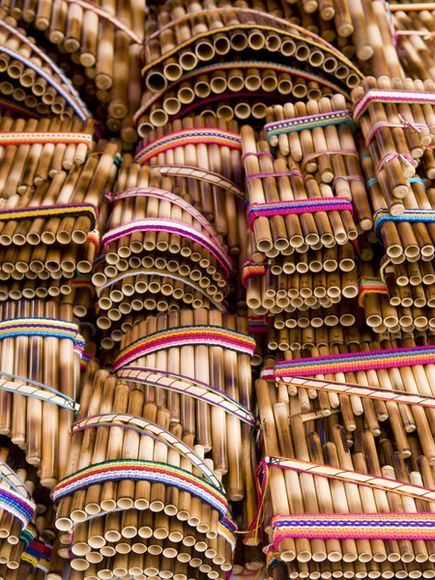 Panpipes from Equador