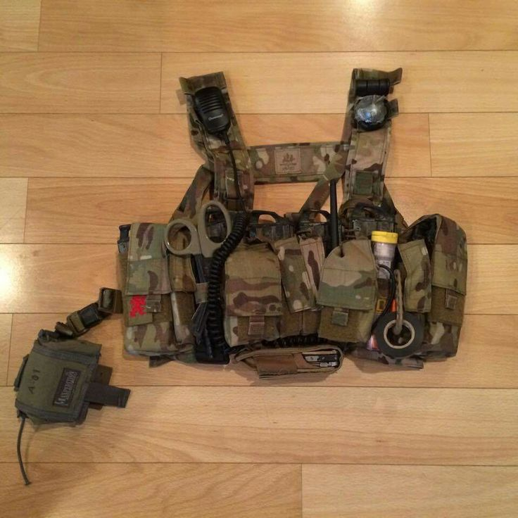 Mayflower chest rig                                                                                                                                                                                 More