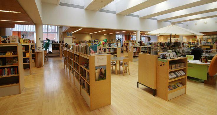 Järvenpää city library,  the youth department