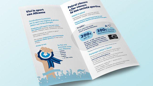 https://flic.kr/p/BkPd6E | ALLEANZA ASSICURAZIONI - Alleati per lo sport | Il marketing assicurativo. Alleati per vincere