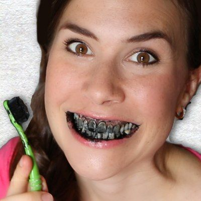 Activated charcoal teeth whitening?!? It's weird, but it works! In this post and video, I'll show you how to do it :)