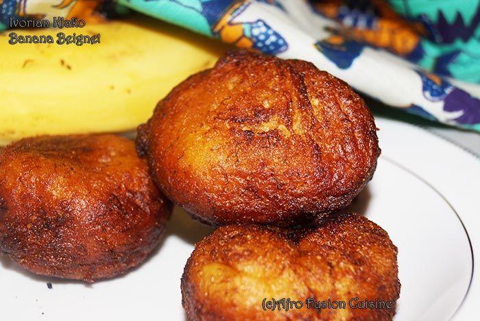 Beignets banane au ma s du cameroun cuisiner pinterest - Cuisiner banane plantain ...