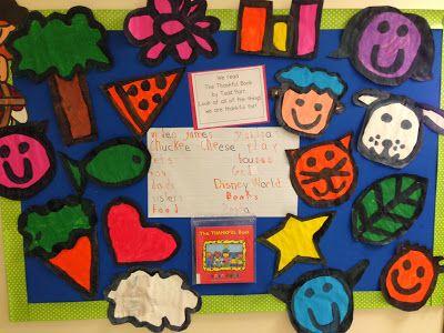 Chalk Talk: A Kindergarten Blog: Todd Parr Inspired Thankfulness