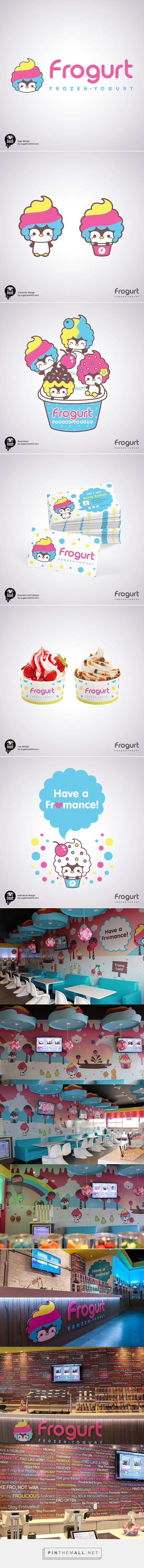 Frogurt Frozen Yogurt on Behance    Fivestar Branding – Design and Branding Agency & Inspiration Gallery