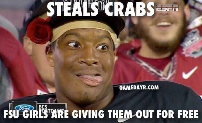 Jameis Winston Meme | Jameis Winston Meme Crab Legs