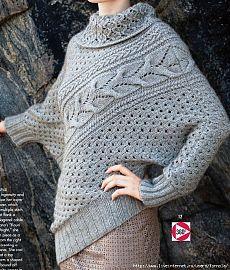 Пуловер Asymmetric