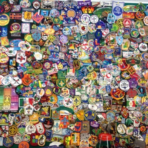 Muro de el recuerdo Tienda Scouts de Mexico