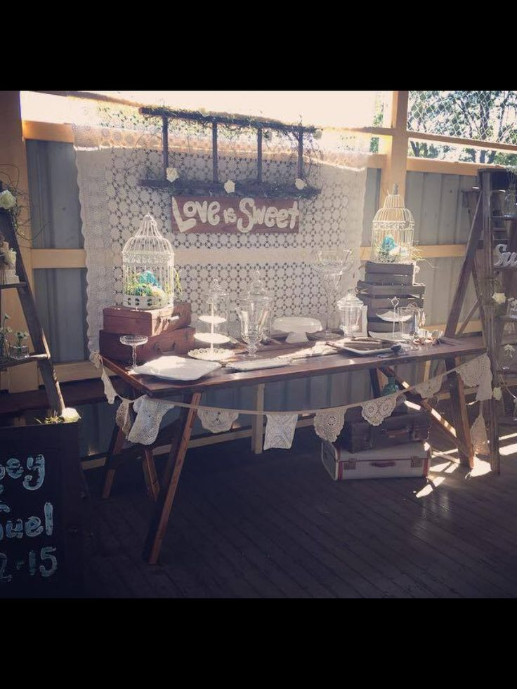Rustic lolly bar .... For HIRE