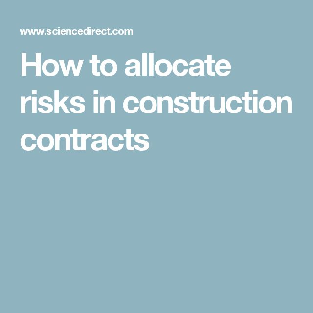 The  Best Construction Contract Ideas On   Contractor