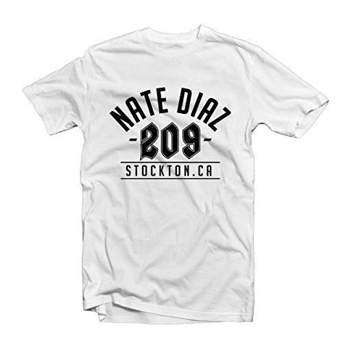 NATE DIAZ UFC Fight Night T-Shirt Round Neck Cotton