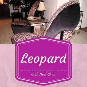 Heel chair on pinterest high heels leopards and red high heel shoes