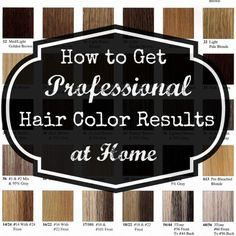 Best 25+ At home hair color ideas on Pinterest