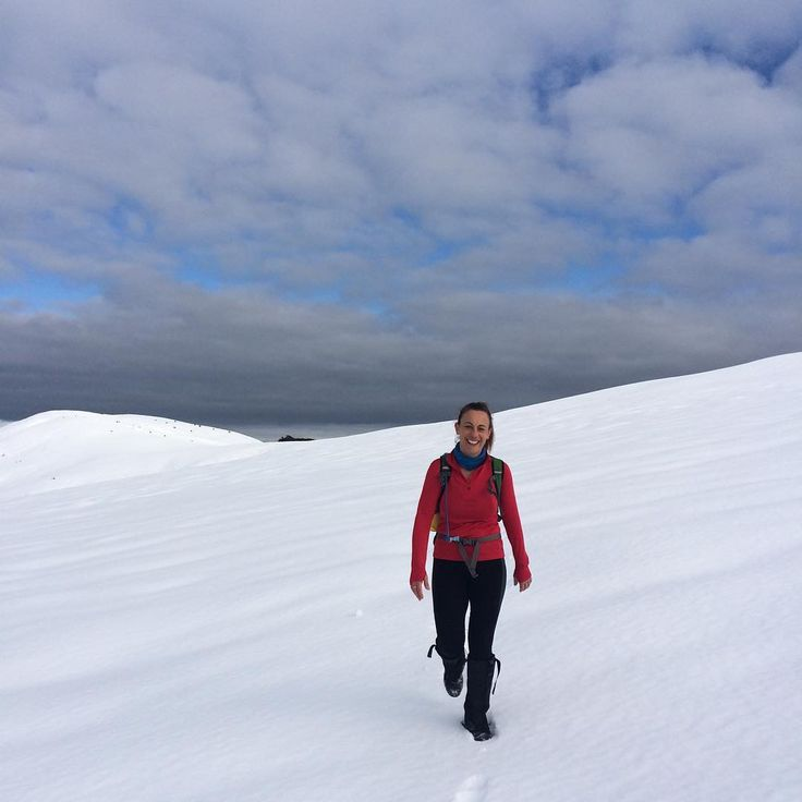 The best ridge hiking after a good grovel up to the bushline - Anne Murphy from Active Earth Adventures
