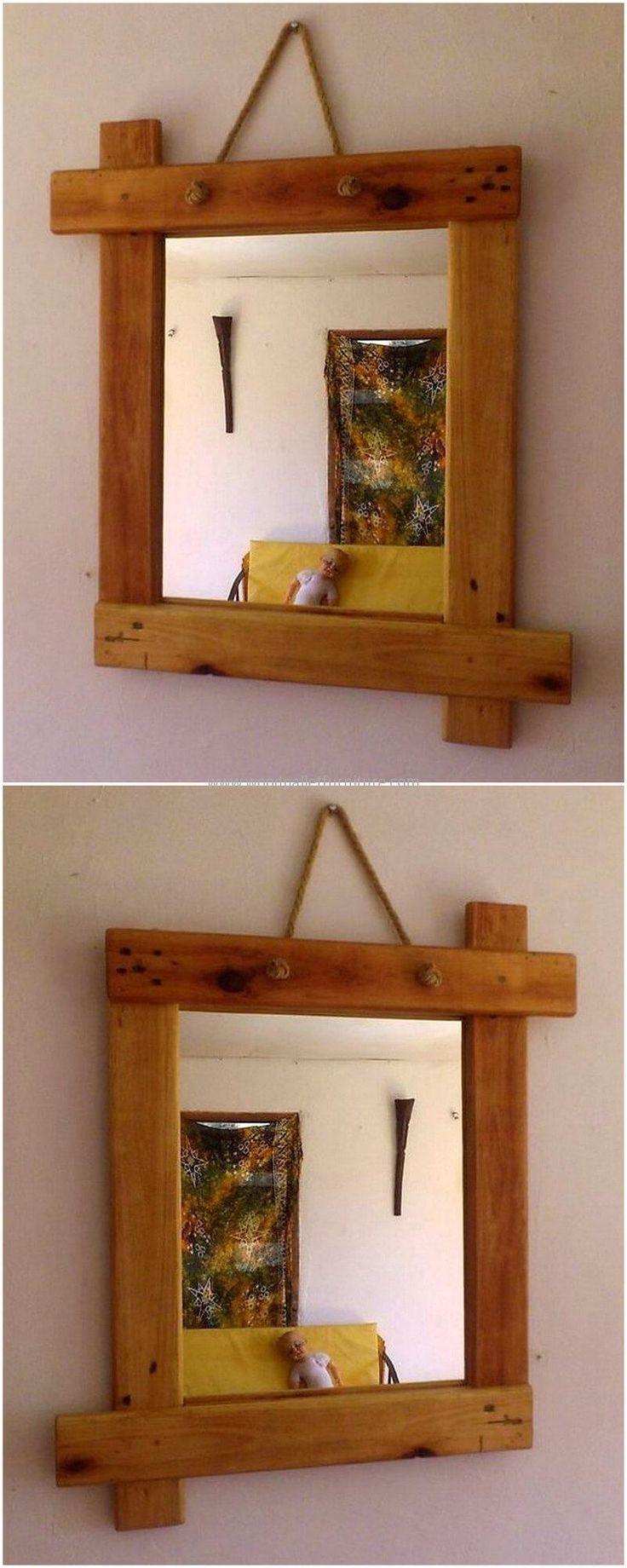 M s de 25 ideas incre bles sobre espejos r sticos en - Espejos rusticos ...