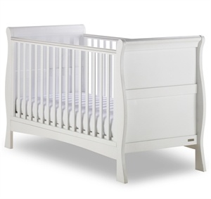 Picture of Izziwotnot Bailey Sleigh Cot Bed in White