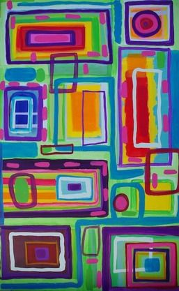 This work is my study into colour form and abstraction.