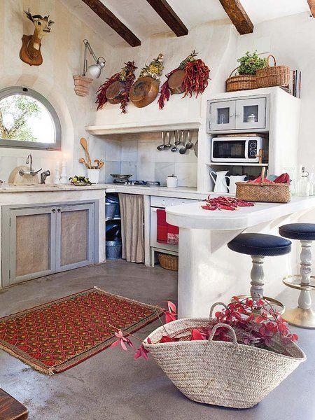 Una cocina de época